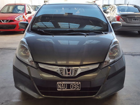 Honda Fit 1.5 Ex-l At 120cv 2013 Caja Sec Cuero Impecable