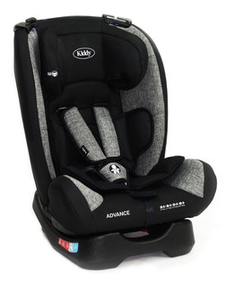 Silla infantil para auto Kiddy Advance 2019 Negro/Gris
