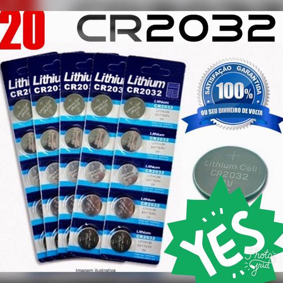 Bateria Cr2032 20 Unidades 1 Linha