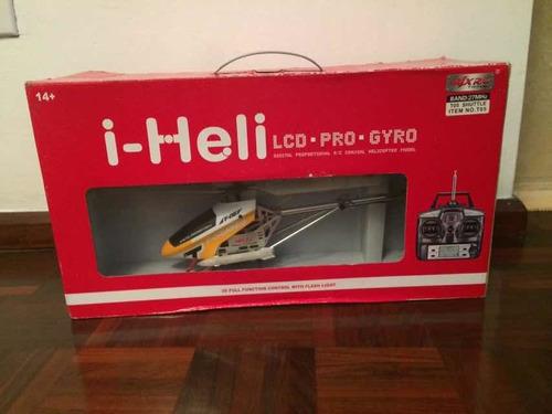 Helicóptero A Control Remoto I-heli Para Repuesto