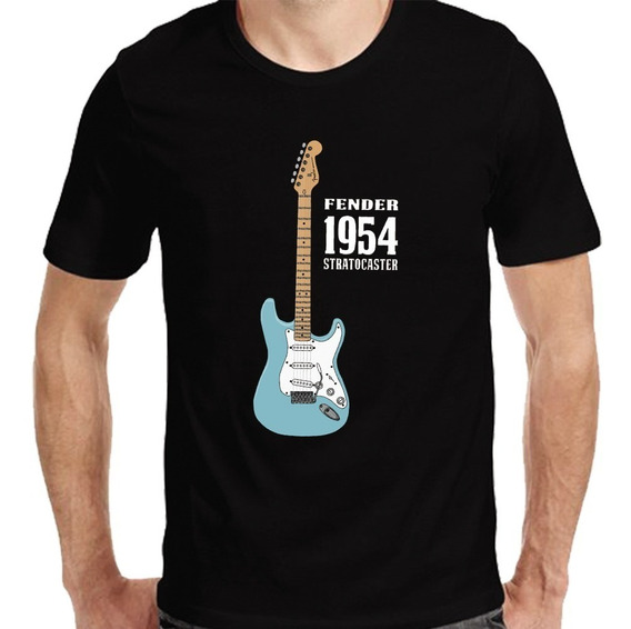 Remeras Guitarras Bajos   Fender Squier  de Hoy No Pasa  4