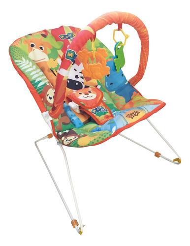 Cadeira De Descanso Musical Savana Com Mordedor Maxibaby