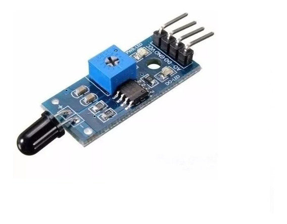 Sensor De Fogo Chama Infravermelho Para Arduino Esp8266