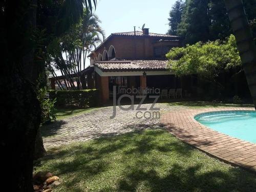 Chácara Com 5 Dormitórios À Venda, 3800 M² Por R$ 1.980.000,00 - Chácara Residencial Paraíso Marriot - Itu/sp - Ch0469