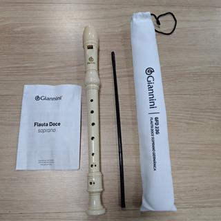 Flauta Doce Soprano Germânica Giannini Gfd 23g
