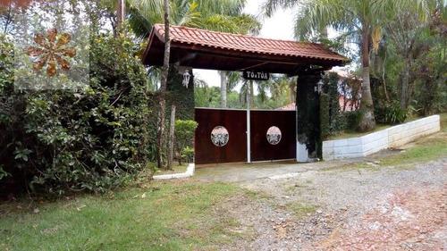 Imagem 1 de 15 de Casa Chácara Em Chácara Bananal  -  Arujá - 5627