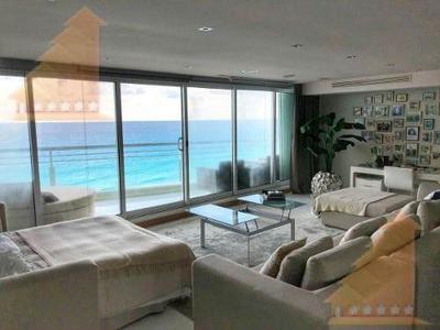 Increible Departamento Tipo Loft Amueblado 1 Recamara Vista Al Mar Maralago Zona Hotelera Cancun