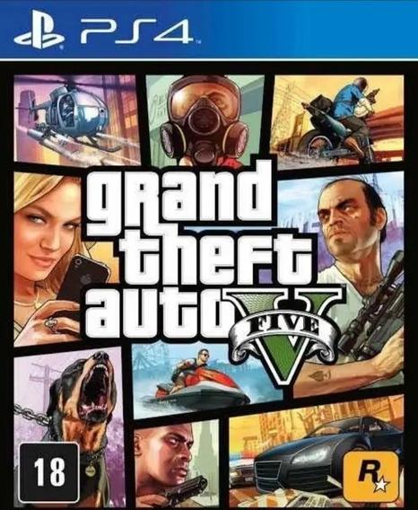 Grand Theft Auto V Gta 5 Ps4 Jogo Original Envio Digital
