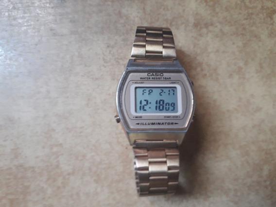Relógio Casio Vintage B640 Cobre