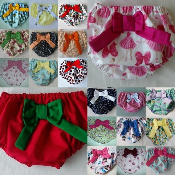 Calcinha Tapa Fralda Kit Com 2