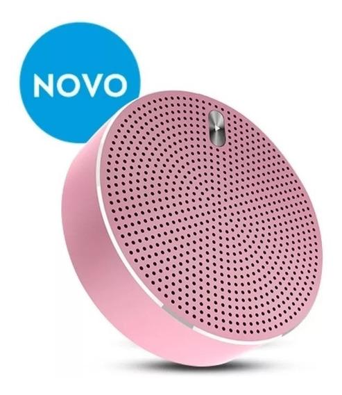Caixa De Som Portátil Bluetooth Lounge Rosa Eas055m-7