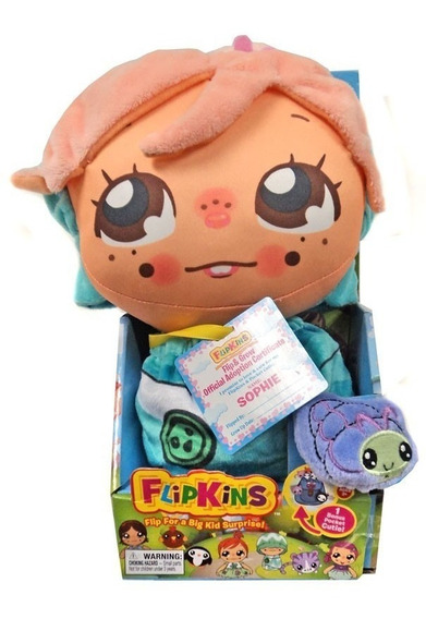 Boneca Flipkins 2 Em 1 Com Cutie Pet Ana Dtc
