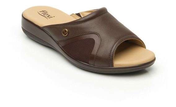 Calzado Zapato Sandalia Flexi Dama 34914 Café Pv21
