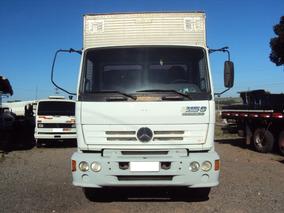 Mb 1215 4x2 Baú Furgão Alumínio 7 Metros Comp.