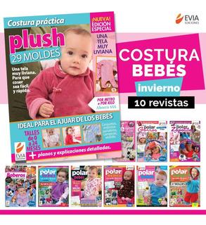 Pack 12 - Costura Bebé - 10 Revistas