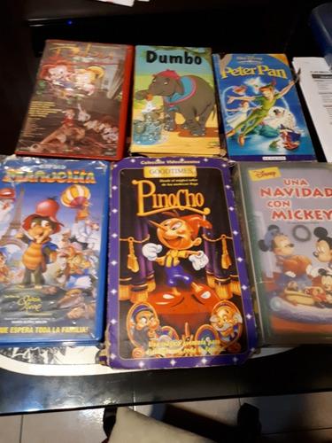 Películas Infantiles Vhs, 22 Vídeos En 300 $