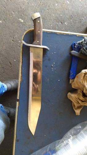 Faca Bowei Artesanal Forjada Em Aço 5160