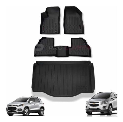 Tapetes Chevrolet Tracker 2013-21 : 2 Filas Y Baul