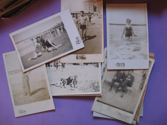 Lote De 280 Fotografias De Mar Del Plata, Antiguas