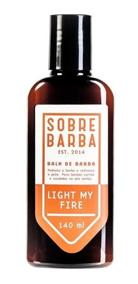Balm De Barba Light My Fire 140ml - Sobrebarba