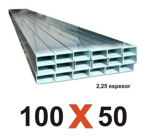 Tubos Estructurales De 100x50 De 7.20metros