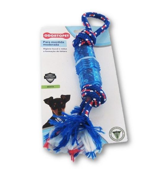 Mordedor Dentalbone Tubo Mord. Moderada Cachorro Até 7 Kg