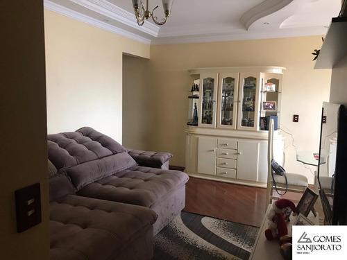 Imagem 1 de 12 de Apartamento Para A Venda No Bairro Vila Apiaí Em Santo André - Sp . - Ap01404 - 69427092