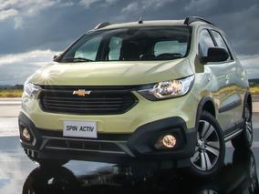 Nueva Chevrolet Spin Activ 1.8 Nafta 5 Plaza Manual 2019 Ep*