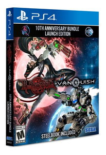 ..:: Bayonetta Vanquish 10th Anniversary Ps4 Steelbook ::..
