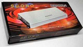 Amplificador Clase D Suono 2000.1 Nuevos 1 Año De Garantia