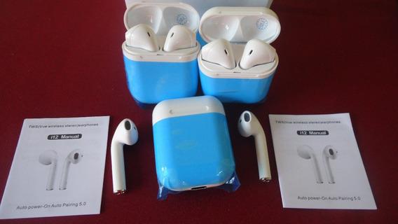 Audifonos Inalambricos AirPods I12 Bluetooth 10vrds