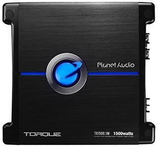 Planet Audio Tr1500.1m Torque 1500 Vatios, 2 Ohmios Clase Es