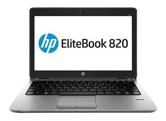 Notebook Hp Elitebook 820 Intel Core I5 4gb 320gb - Novo