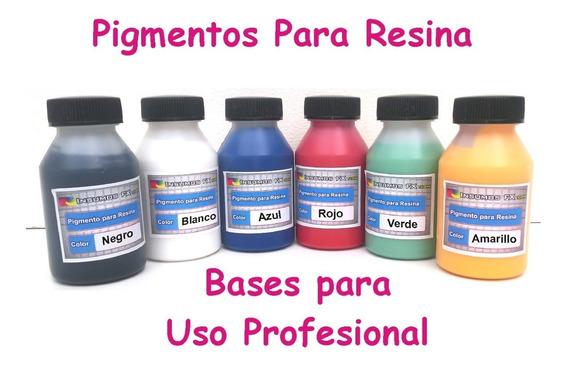 Pigmento Para Resina Cristal Liquido Uso Profesional X 70cc