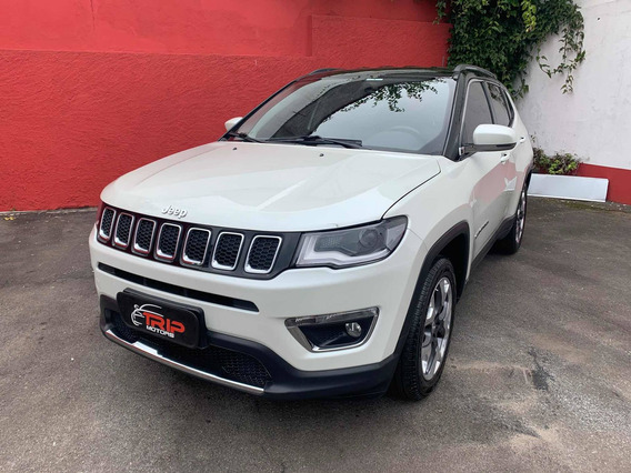 Jeep Compass 2.0 Limited Flex Aut 2017 Interior Caramelo Top