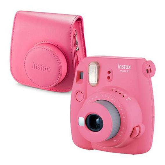 Kit Câmera Instantânea Fujifilm Instax Mini 9