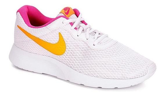 Tenis Nike Modelo. 701024 Tanjun Color Blanco De Mujer / H