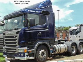 Scania R440 6x4 Top De Linha 2019 Okm