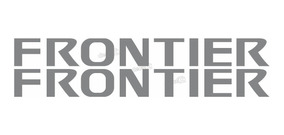 Emblema Adesivo Rack Nissan Frontier Prata Par Frtrck