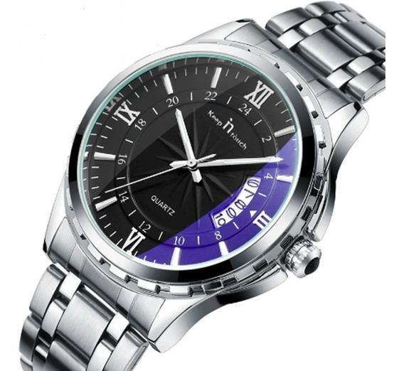 Relógio Masculino Keepintouch 8026 Pulseira Aço