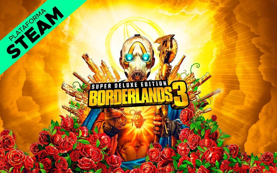 Borderlands 3 Super Deluxe Edition Pc - Steam Key