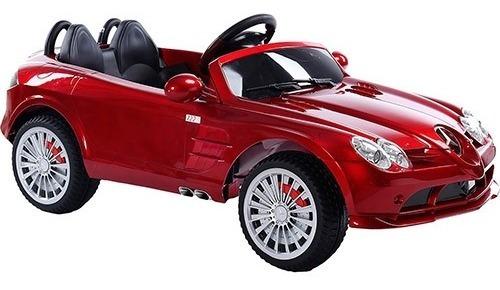 Carrinho Elétrico Infantil Conversível Vermelho - Mercedes B