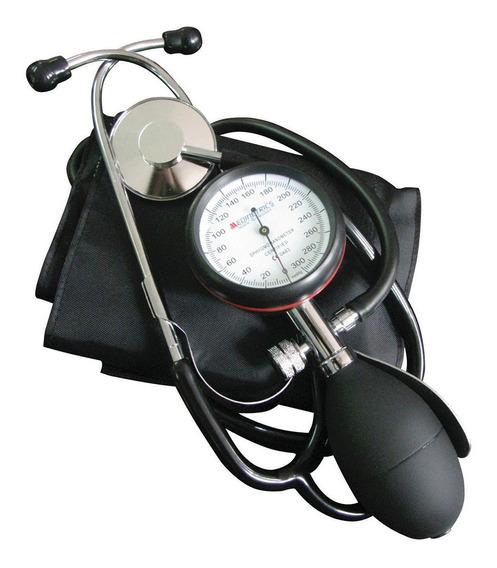 Kit Baumanometro Integral C/estetoscopio Negro