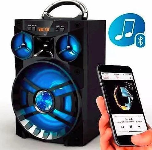Caixa Caixinha Som Portatil Bluetooth Mp3 Usb Cartao Fm A28