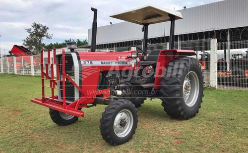 Trator Massey 275 4×2 Ano 1990 Cambio De 3 Alavancas