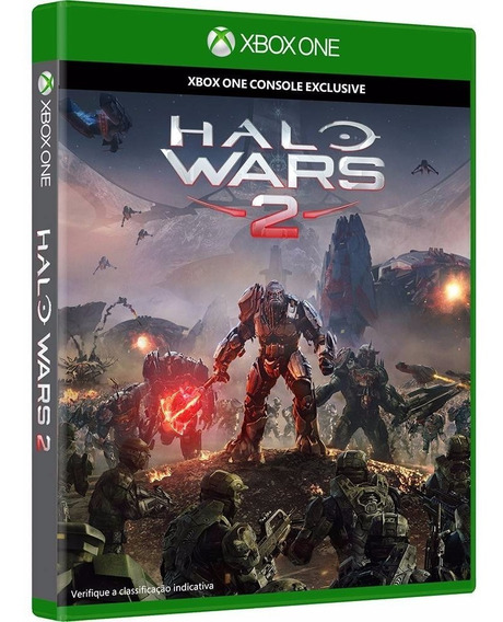 Halo Wars 2 Xbox One Original Lacrado Mídia Física Português