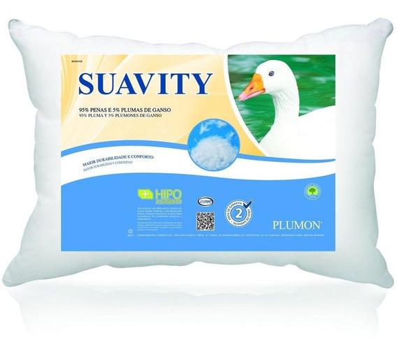 Travesseiro Plumon Suavity - Penas E Plumas De Ganso