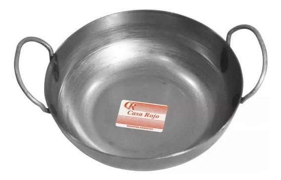 Paellera Chapa 24 Cm Gastronomica Con Asa Oferta