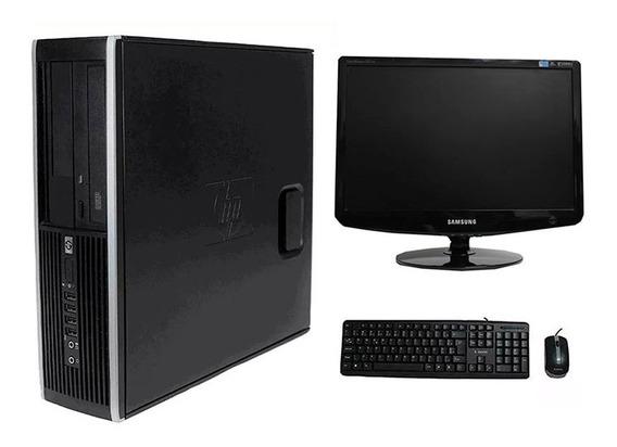 Computador Hp 8100 I5 4gb 500gb Monitor 19