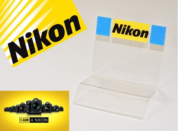 Display Nikon Em Acrílico Para Vitrine De Loja E Estudio